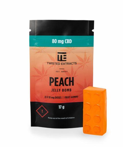 Jelly Bomb Peach CBD 5.48